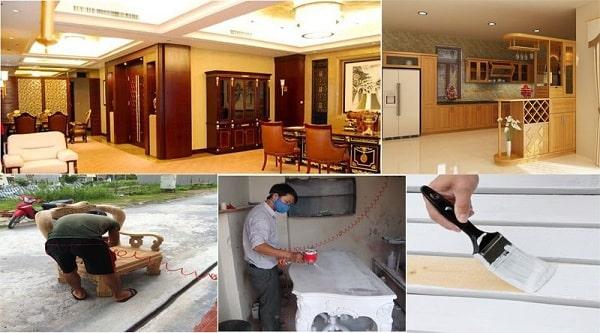 Sửa chữa tân trang lại đồ gỗ tại quận Hoàng