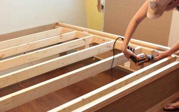 Cách tháo lắp giường bắt ốc vít