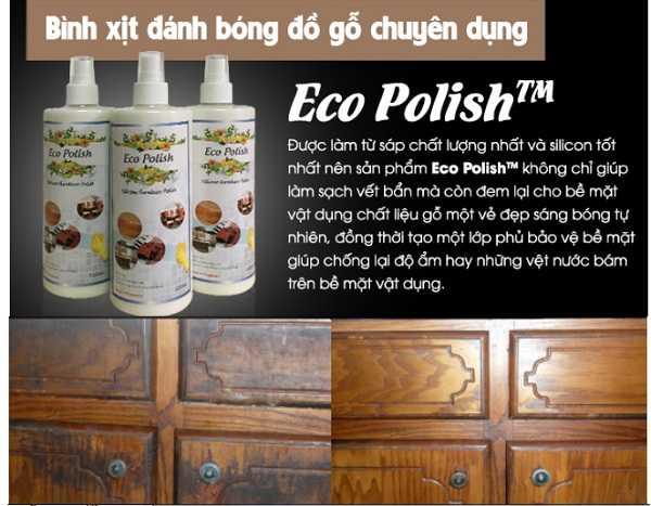 Lau chùi đồ gỗ bằng sản phẩm chuyên dụng