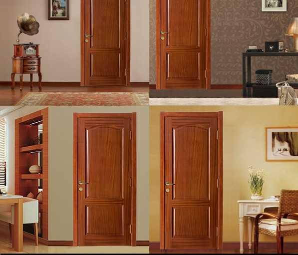 Mẫu cửa gỗ thông phòng 1 cánh trơn