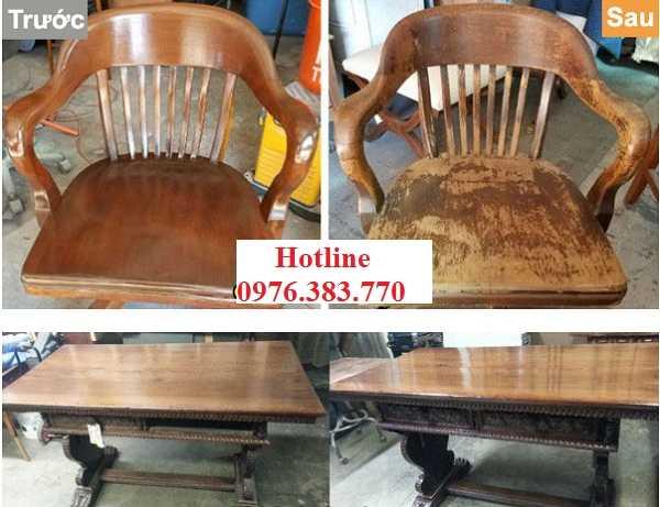 Sửa chữa bàn ghế tại nhà