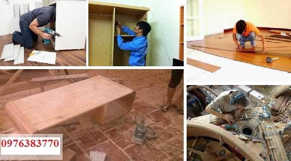 Sửa chữa đồ gỗ tại quận tây hồ