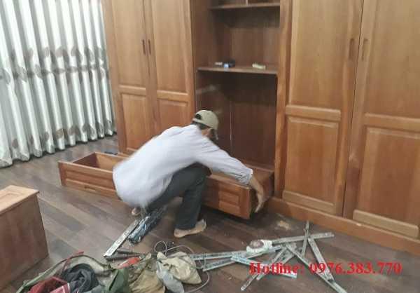 Thợ mộc Sửa chữa tủ quần áo tại nhà